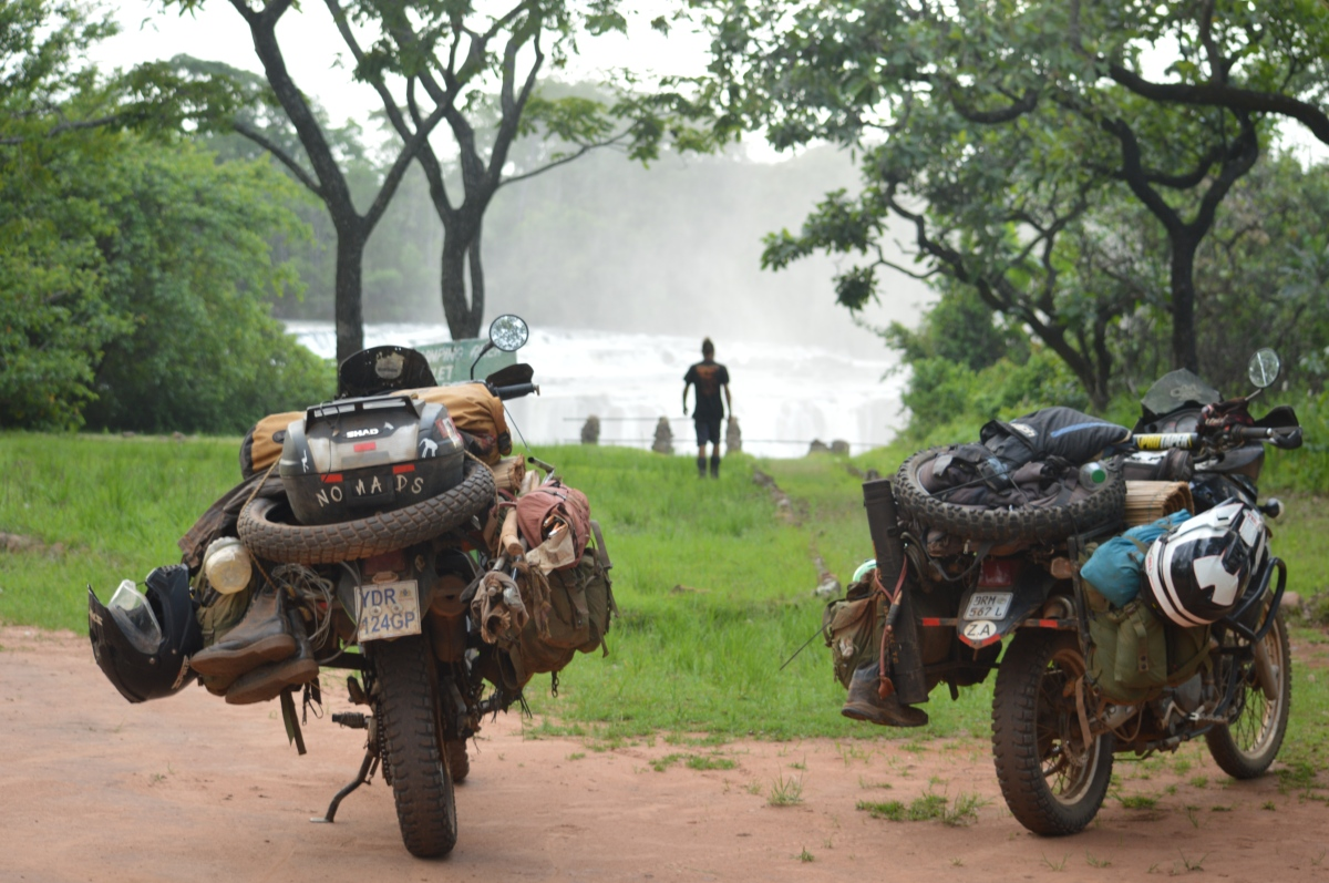 Zambia Backroads: Giant Waterfalls, Congo Refugees, Two Great Lakes and Tom's snapped frame!